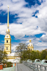 Peter and Paul Church in Peter and Paul's Fortress, St Petersbur