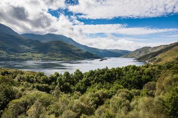 Highlands landscape in Scotland, UK.