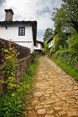 Revival houses in the architectural complex Bozhenci, Bulgaria