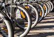 Bicicletas en el Parking