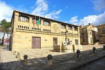 Plaza del Pópulo, Baeza, Jaén, España