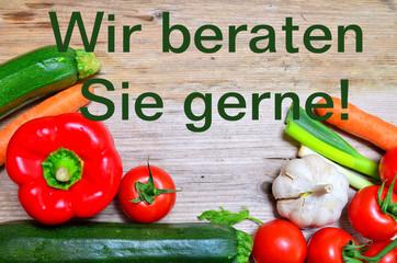 Gemüse Wir beraten Sie gerne