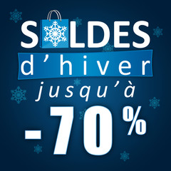 Soldes d'hiver jusqu'à -70%