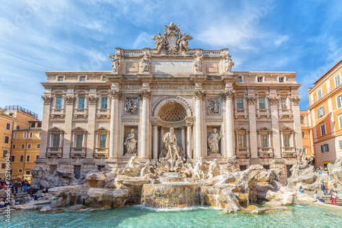 Foto op Canvas Rome Trevi Fountain in Rome, Italy