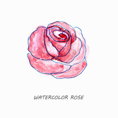 Watercolor background pattern