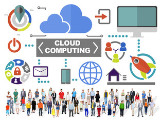 People Togetherness Global Communications Cloud Concept