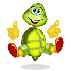tartaruga cartoon