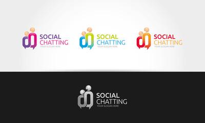 Social Chatting Logo