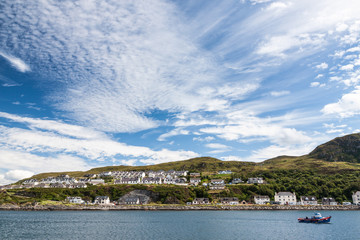 View of Mallaig, a little port in Lochaber