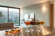 Home, aperitif with pastries