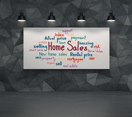 home sales concept