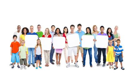 Diversity Casual Community Friendship Teamwork Concept