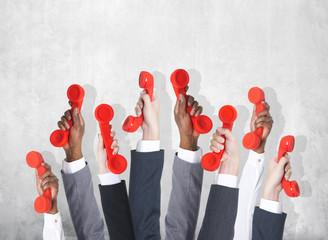 Business Telecommunication Conversation Phone Home Phone Concept