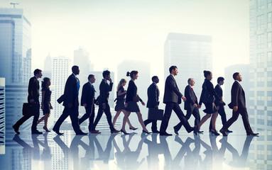 Colleague Business Corporate Office Urban Scene Team Concept
