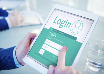 Login Registration Membership User Register Join Concept