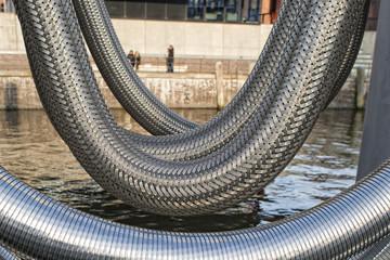 metallic flexible pipe
