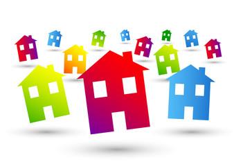 casa, casetta, immobiliare, casetta, abitare