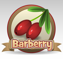 Barberry label