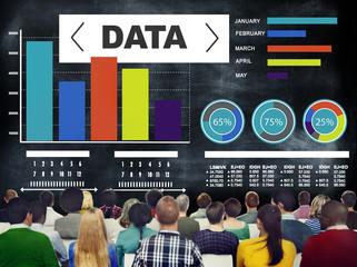 Data Analytics Chart Performance Pattern Statistics Concept