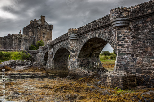 Foto op Canvas Kasteel Eilean Donan Castle, Scotland, Uk