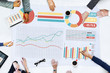Business People Meeting Analysis Statistics Concept