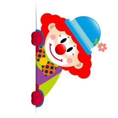 Clown Red Hair