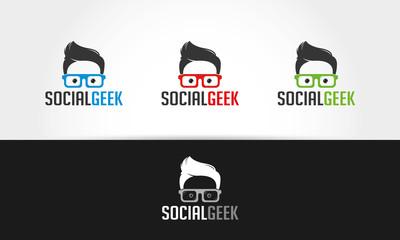 Social Geek Logo