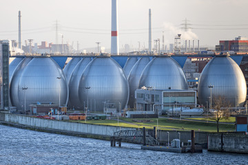 Desalination plant in hamburg port