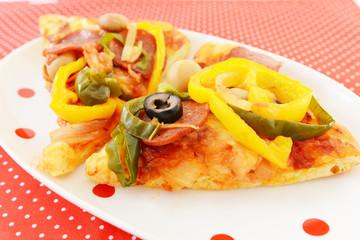おいしそうなピザ