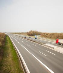 Teil einer Autobahn