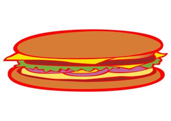 Hamburger pop