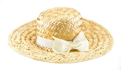Handmade Hat form Straw and bamboo thailand souvenir