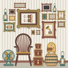Vintage Object Interior