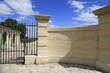 Eingang zum berühmten Chateau Latour