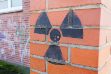 Zeichen Atomkraft