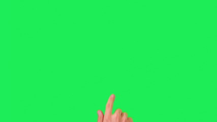 adult man hand ten popular touch gestures, shoot in raw