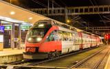 Austrian local train at Feldkirch station