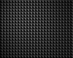 Oberflächenstruktur schwarz grau Pyramidenstruktur