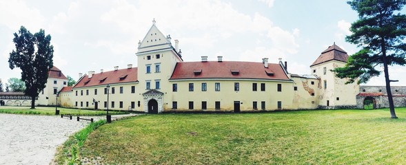 Old palace in Europe