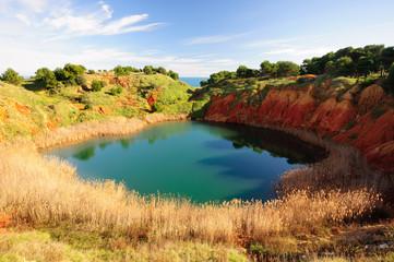Otranto Lago di Bauxite