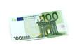 Leinwanddruck Bild - 100 Euro Vorderseite