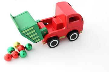 Camion en action