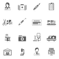 Doctor Icon Set