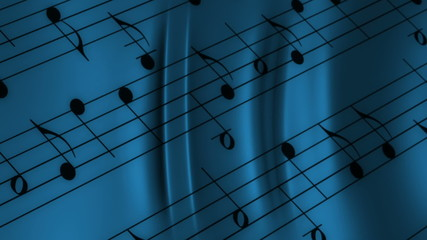 Dark Blues Music Looping Animated Background