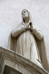 Saint Agnes of Montepulciano, Dominican Church in Vienna