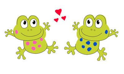 frog. Dance. Love. Valentine's Day