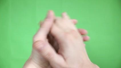 applauses green screen