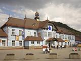 Railway station in Ruzomberok. Slovakia