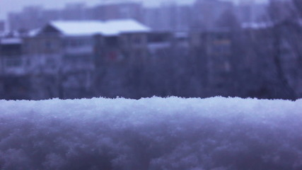winter snow and snowing