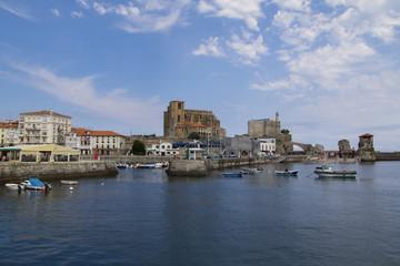 Castro Urdiales town, Spain